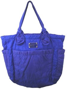 Marc Jacobs Quilted Nylon Tote in BLUE