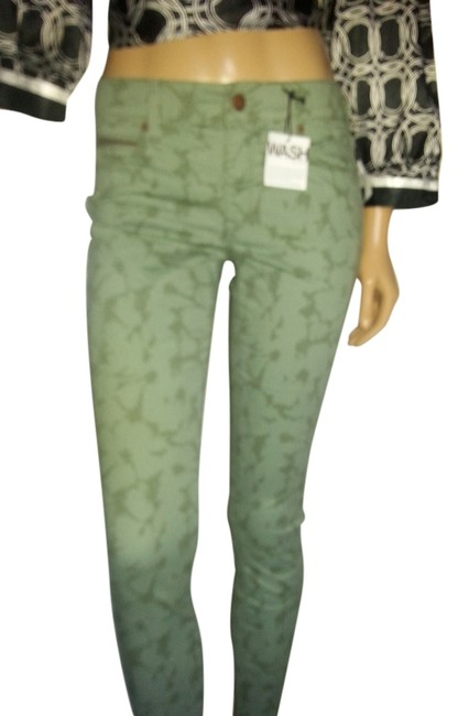 Preload https://item2.tradesy.com/images/gap-green-copper-light-wash-skinny-jeans-size-26-2-xs-9099721-0-1.jpg?width=400&height=650