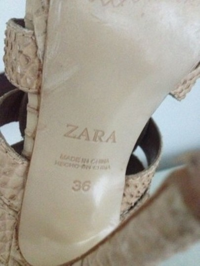 Zara Beiges Sandals