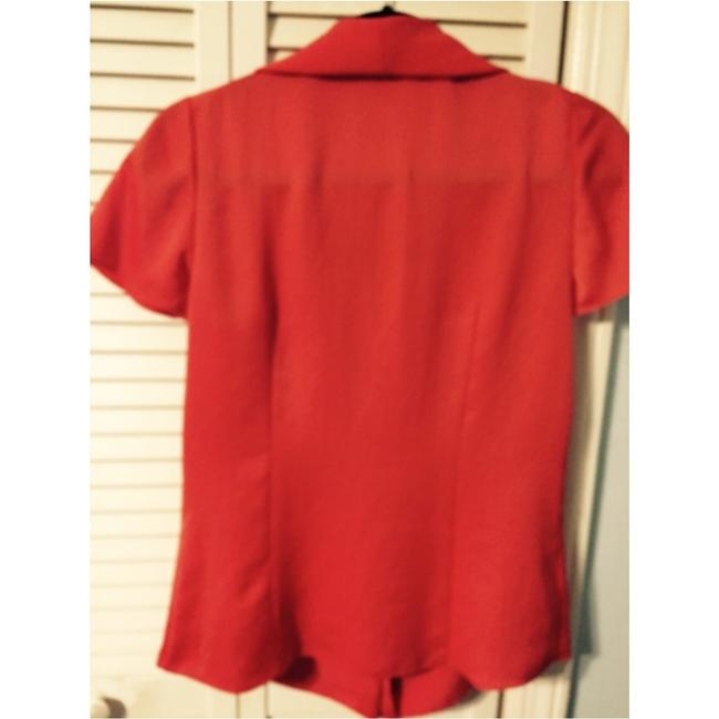 Elie Tahari Top Orange