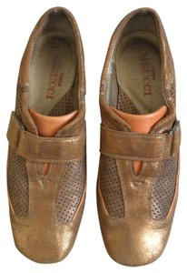 Sesto Meucci Italian Leather Bronze/orange Athletic