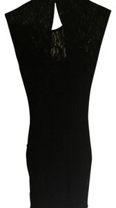 Love Culture short dress Black Lace Womens on Tradesy