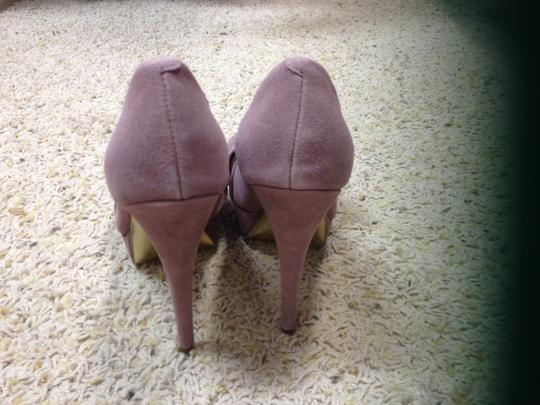 Express Night Out Date Night Grey Pumps