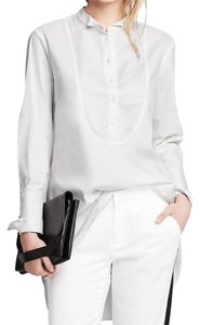 Banana Republic Tunic Dress Long Dresse Top white