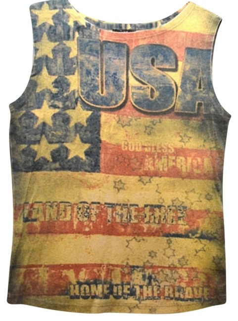 Preload https://item1.tradesy.com/images/multicolor-usa-4th-of-july-tee-tank-topcami-size-6-s-910060-0-0.jpg?width=400&height=650