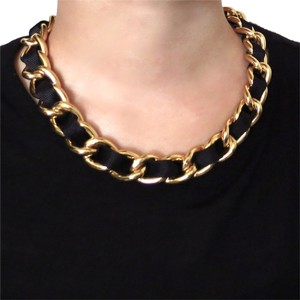 Elliot Francis Gold chain necklace