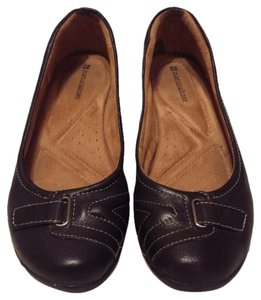 Naturalizer Leather Comfort Black Flats