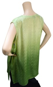 Pegasus Plus-size Top Green Ombre