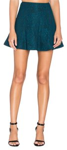 Lovers + Friends Mini Skirt Teal