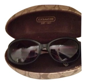 Coach Black Coach Sunglasses /w hard case