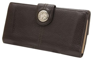 HUNTING WORLD HUNTING WORLD Leather W Hook Long Wallet Brown