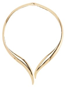 Bansri Bansri Polished Gold Collar Necklace
