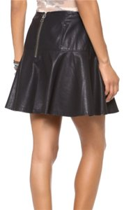 Free People Mini Skirt Blac