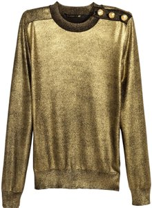Balmain x H&M Top Gold