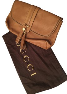 Gucci Tan Clutch
