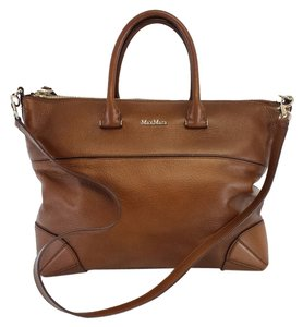 Max Mara Brown Leather Tote