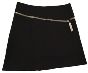Louis Vuitton knit mini with chunky zip detail Mini Skirt Blac