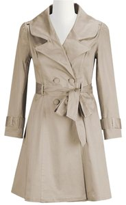 Eshakti Cotton Sateen Trench Coat