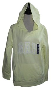 Gap GAP Logo Womens Pullover LIGHTWEIGHT HOODIE SWEATSHIRT Yellow XXL Hoody NEW 2XL