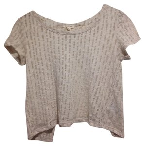 Silence & Noise Cut-out Top Cream