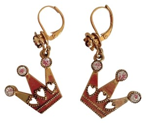Betsey Johnson Betsey Johnson Crown Earrings
