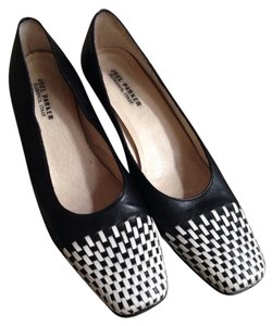 Joel Parker Black And White Pumps
