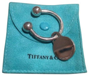 Tiffany & Co. Tiffany & Co. Sterling Silver Round Tag Key Ring