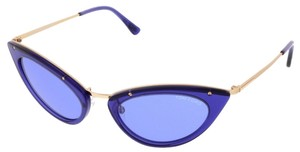 Tom Ford Tom Ford Electric Blue Cateye Sunglasses