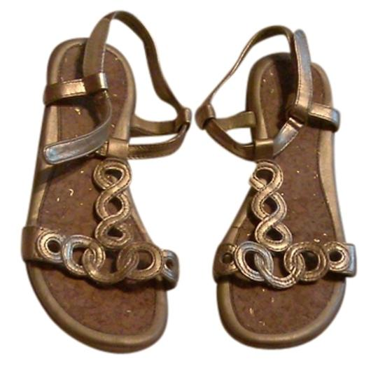 jumping jacks Chic Chic Casual gold Sandals