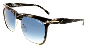 Tom Ford Tom Ford Brown Horn Clubmaster Sunglasses