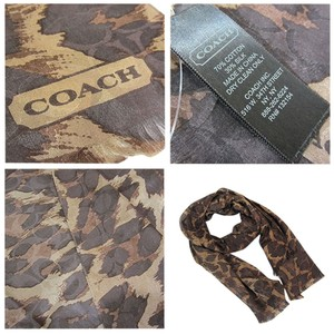 Coach Ocelot Signature oblong scarf Style 86765