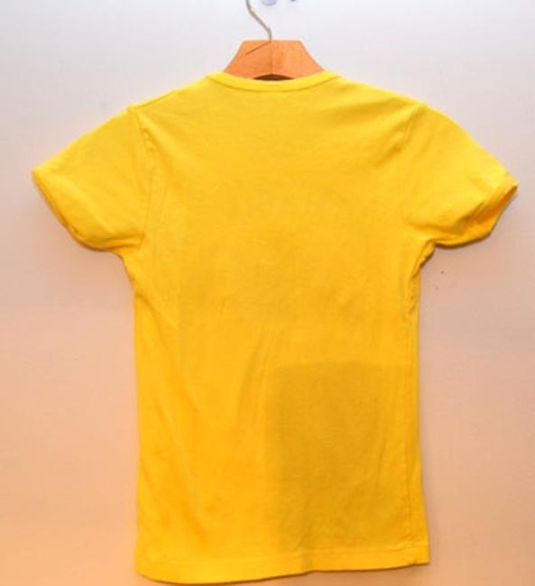 Queen Rolling Stones T Shirt Yellow