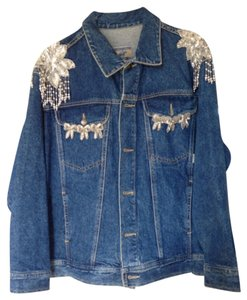 Beverly Hills Polo Club Womens Jean Jacket