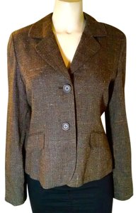 Ann Taylor Jacket Size 8 P1867 brown Blazer