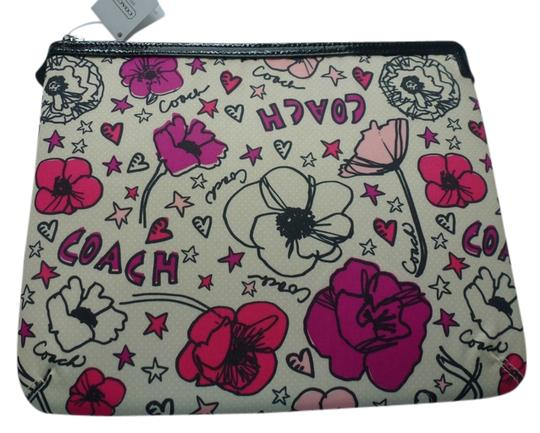 Preload https://item1.tradesy.com/images/coach-multicolor-kyra-floral-print-ipadtablet-sleeve-case-tech-accessory-910800-0-0.jpg?width=440&height=440