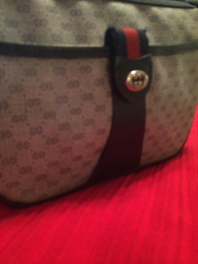 Gucci Vintage Tote Cross Body Bag