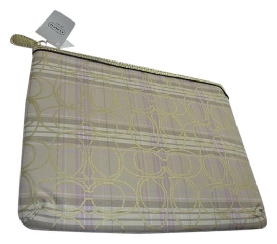 Coach COACH TARTAN PLAID iPAD/TABLET SLEEVE CASE