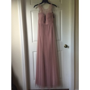Jenny Yoo Whipped Apricot Tulle Formal Bridesmaid/Mob Dress Size 2 (XS)