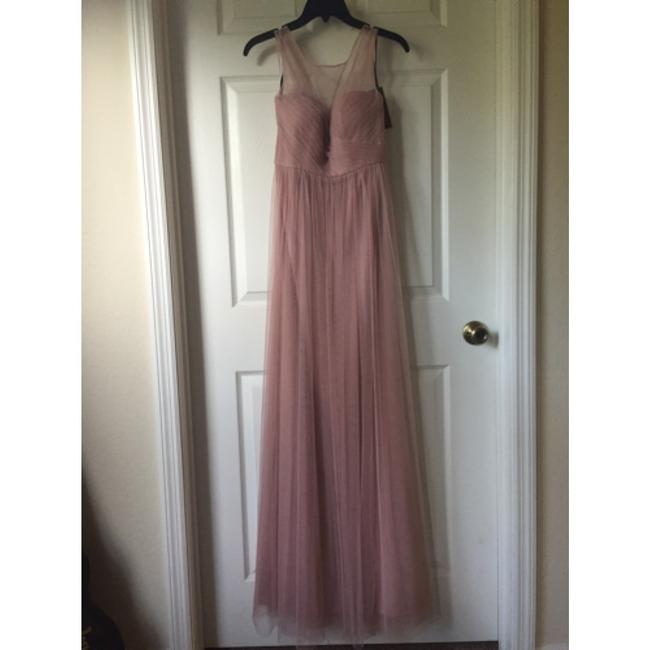 Item - Whipped Apricot Tulle Formal Bridesmaid/Mob Dress Size 2 (XS)