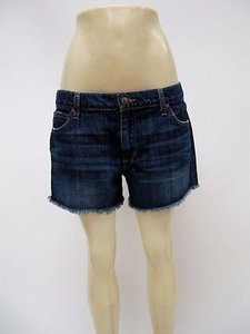 JOE'S Jeans Womens Joess Jean Dark Wash Cut Off Shorts Blue