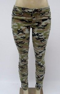 Rich & Skinny Womens And In The Trenches Camouflage 27 Pants