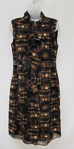 Elie Tahari Womens Black Dress