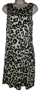 Ann Taylor LOFT Tank Animal Print Dress