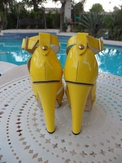 Jimmy Choo Yellow Pumps