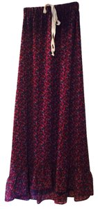 Patterson J. Kincaid Skirt Burgundy