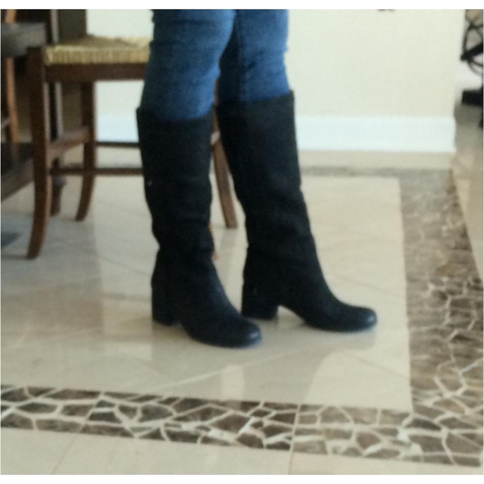 Black Tall Boots Booties Eileen Fisher Tall Boots Shoes