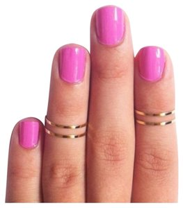 Other 4 silver stackable midi rings