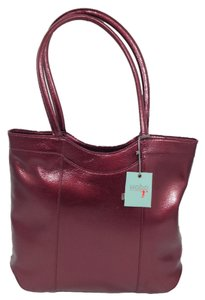 Hobo International Tote in Burgundy