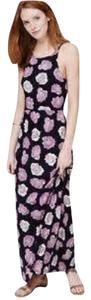 Dark Blue, Pink, White, Lila Maxi Dress by Ann Taylor LOFT