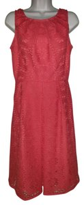 Adrianna Papell Crochet Tank Sheath Dress